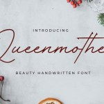Queenmother Handwritten Font