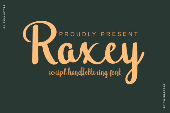Raxey Handwritten Script Font