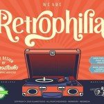 Retrophilia Bold Serif Font