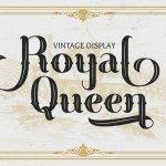 Royal Queen Vintage Display Font