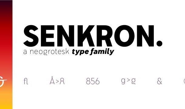 Senkron Sans Font Family
