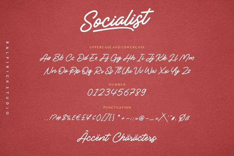 Socialist a Casual Monoline Font-3