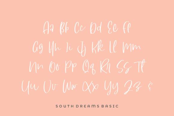 South Dreamers Script Font-3