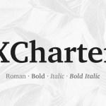 XCharter Serif Font Family