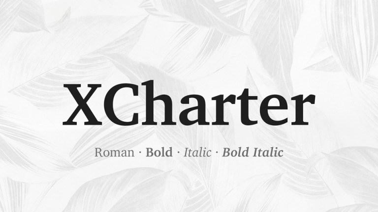 XCharter Serif Font Family-1