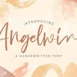 Angelwine Handwritten Font