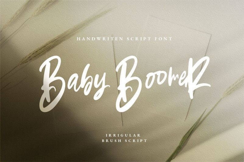 baby-boomer-bold-script-font