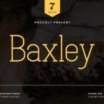 Baxley Slab Serif Font