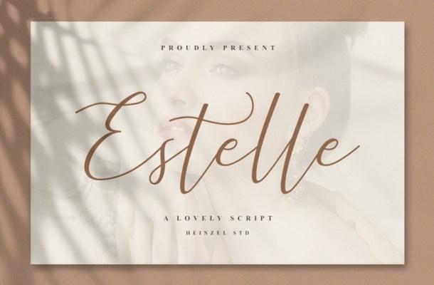 Estelle Modern Script Font