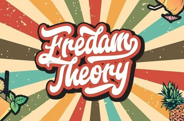 Fredam Theory Retro Script Font