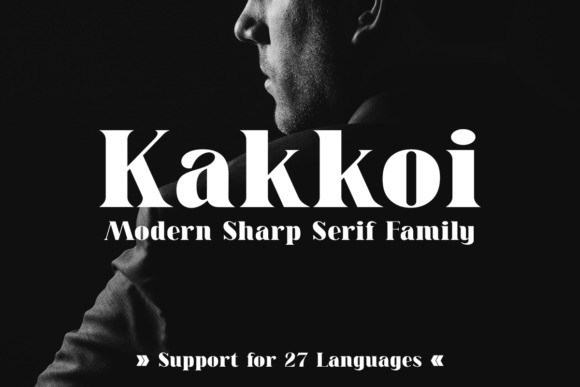 Kakkoi Serif Font