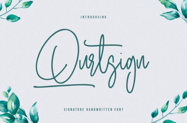 qurtsign-signature-font-1