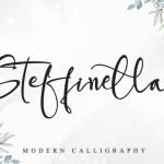Steffinella Handwritten Font