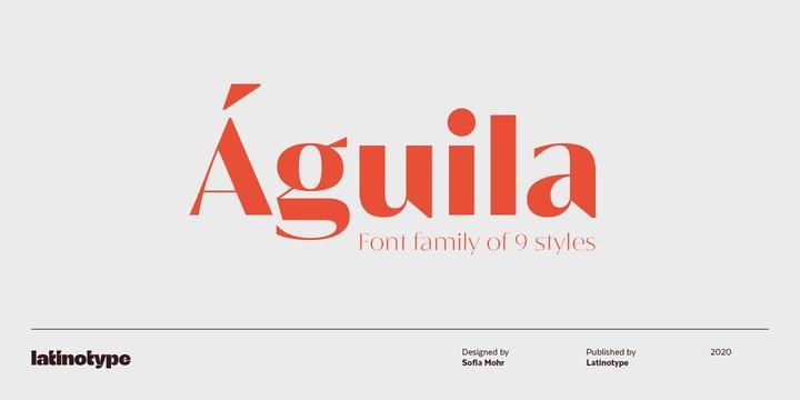 Águila Sans Serif Font-1