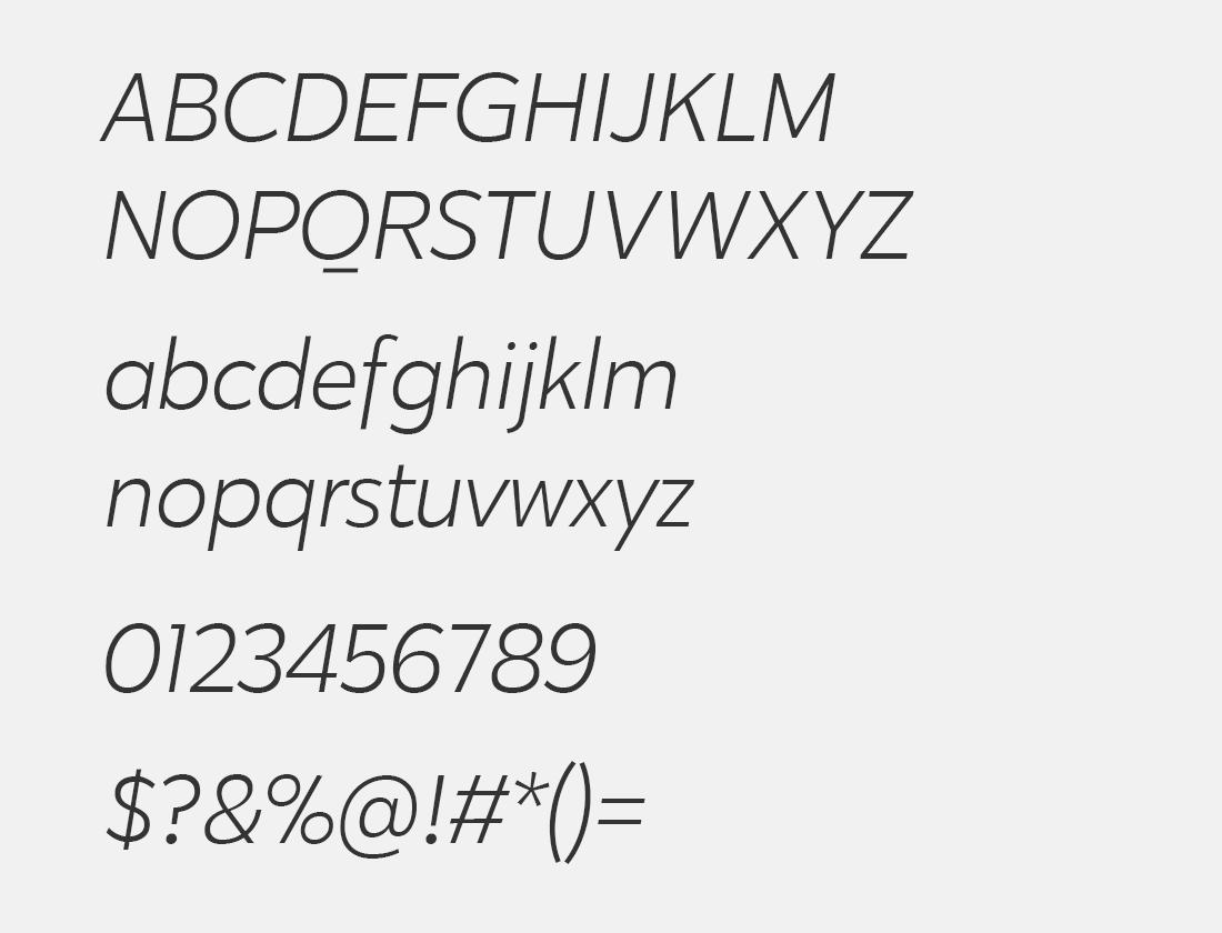 4-Karu-light-italic-font