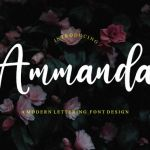 Ammanda Handwritten Script Font