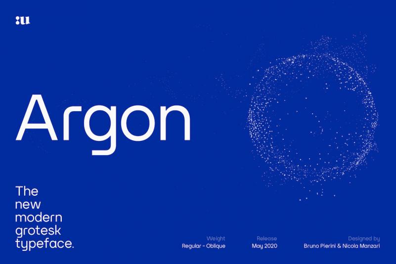 Argon Sans Serif Font-1