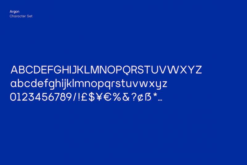 Argon Sans Serif Font-4