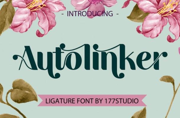 Autolinker Ligature Sans Font