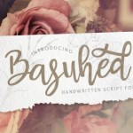 Basuhed Calligraphy Script Font