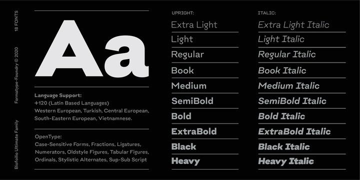 Biofolio Ultimate Sans Serif Font-2