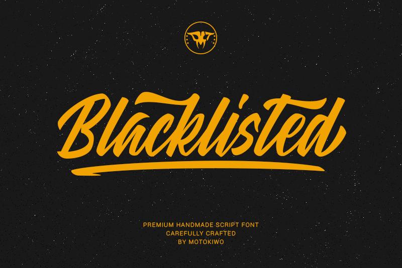 Blacklisted Font-1