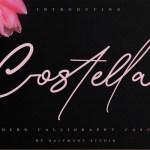 Costtella Handwritten Script Font