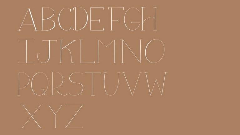 Flora Serif Font-3