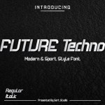 Future Techno Display Font