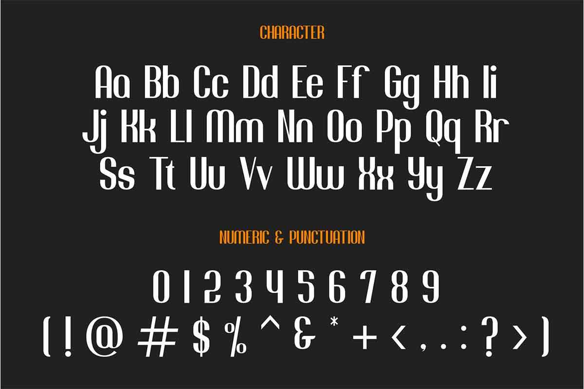 Jacob And Son Sans Serif Font-4