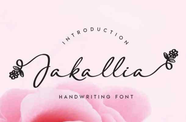Jakallia Handwritten Font