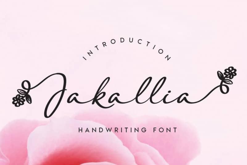 Jakallia Handwritten Font-1