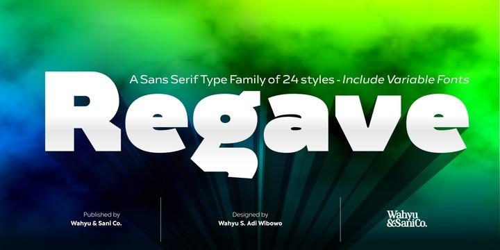 Regave Sans Serif Font-1