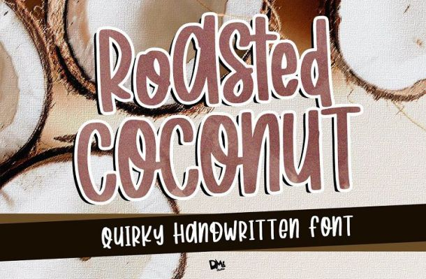 Roasted Coconut Handwritten Font