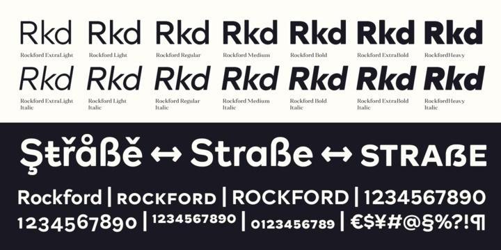 Rockford Sans Serif Font-3