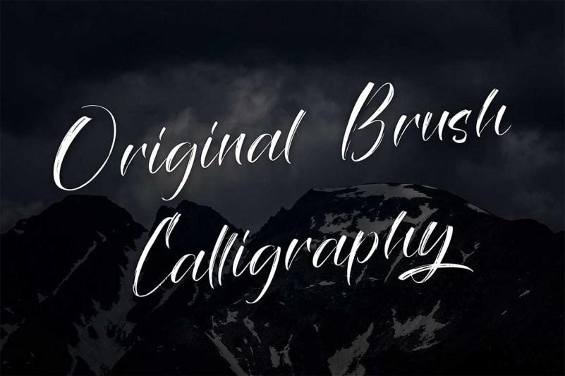 Savage Brush Font-2