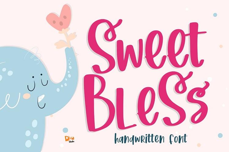 Sweet Bless Handwritten Font-1
