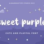 Sweet Purple Font