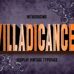 Villadicance Display Font