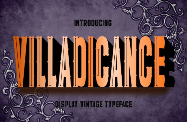 Villadicance Display Font-1