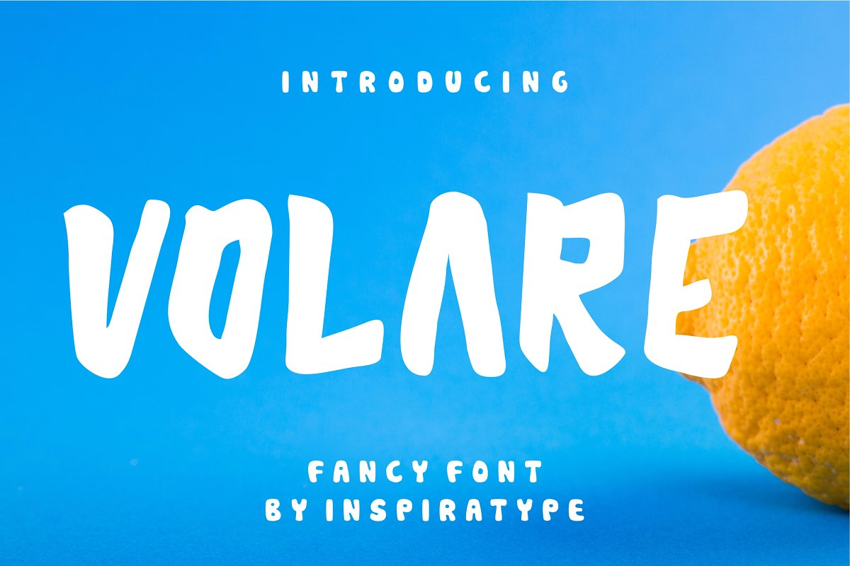 Volare Display Font-1