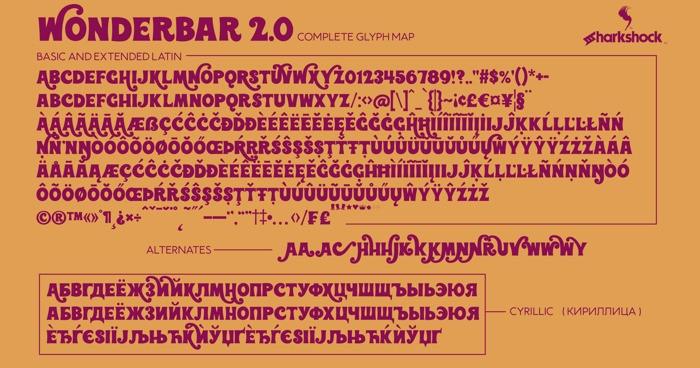 Wonderbar 2.0 Display Font-2