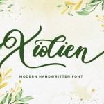 Xiolien Handwritten Font