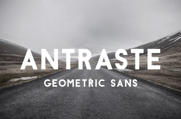 Antraste Sans Serif Font