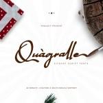 Quagralle Signature Script Font