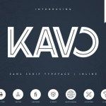 Kavo Inline Bold Display Font