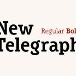 New Telegraph Slab Serif Font