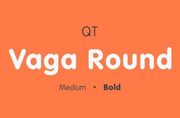Vaga Round Bold Sans Font