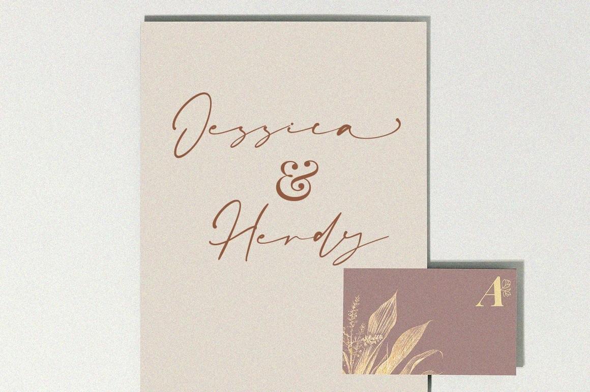 Amanda Signature Script Font-2