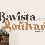Bavista Soulvare Serif Font